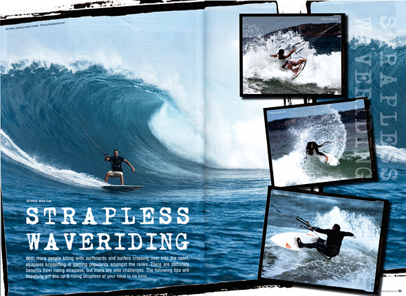An article I wrote & contributed photos to for New Zealand Kiteboarder Magazine