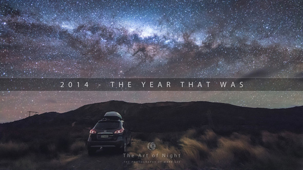 The Art Of Night - 2014 The Year That Was